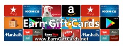 Earn Free Gift Cards and Buy Discounted Gift Cards